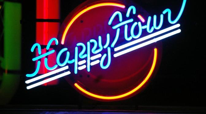 Happy Hour de 18h00 à 20h00 les lundis