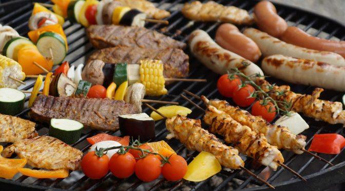 Anniversaire de Gamin et 1er barbecue de l'année, le samedi 7 avril